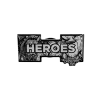 Heroes Pin Front