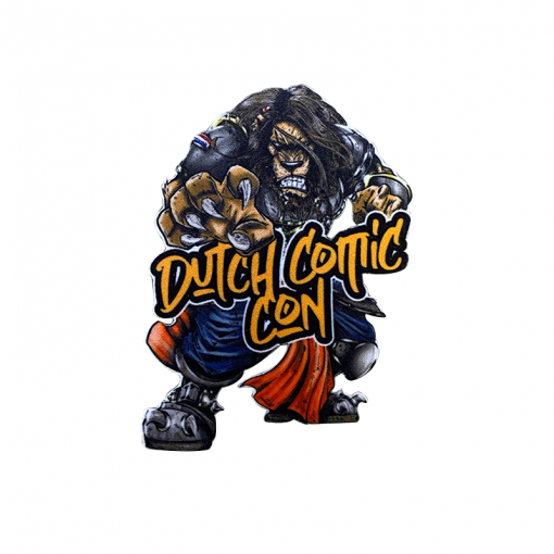 King Iron On Patch